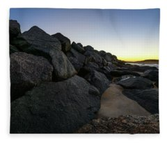 Mystic Beach Fleece Blanket