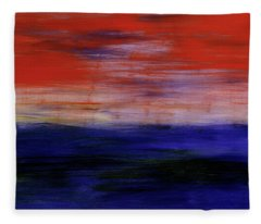Mystic Evening Fleece Blanket
