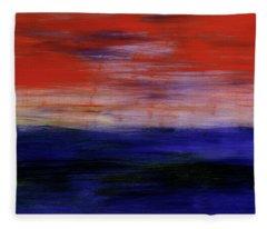 Mystic Evening Fleece Blanket