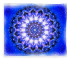 Mystic Mandala Fleece Blanket