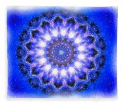 Mystic Mandala Fleece Blanket