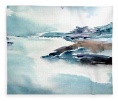 Mystic River Fleece Blanket