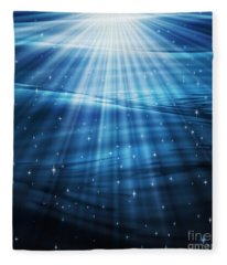 Mystic Waters Fleece Blanket
