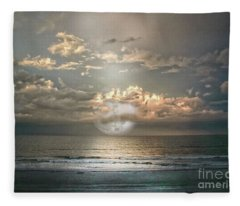 Mystical Moon Fleece Blanket