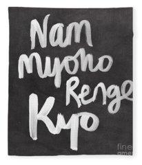 Nam Myoho Renge Kyo Fleece Blanket