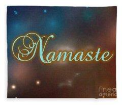 Namaste 5 Fleece Blanket