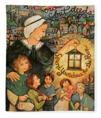 Nano Nagle, Foundress Of The Sisters Of The Presentation Fleece Blanket