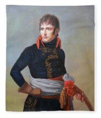 Napoleon Bonaparte As First Consul Fleece Blanket