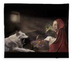Naptime Story Fleece Blanket