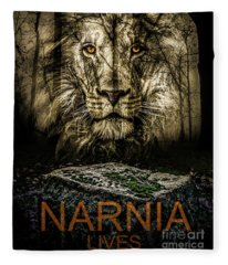 Narnia Lives Fleece Blanket