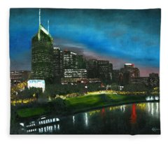 Nashville Nights Fleece Blanket