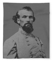 Nathan Bedford Forrest Fleece Blanket