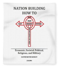 Nation Building How To Book Fleece Blanket