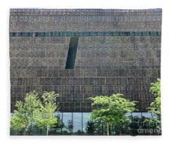 National Museum Of African American History And Culture Fleece Blanket