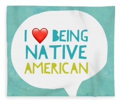 Native Pride Fleece Blanket