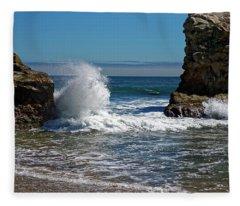 Natural Bridges State Park Fleece Blanket