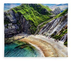Natural Cove Fleece Blanket