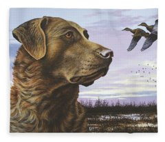 Natural Instinct - Chessie Fleece Blanket