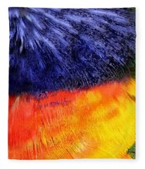 Natural Painter Fleece Blanket