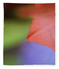 Natural Primary Colors Fleece Blanket