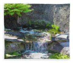 Natural Spa Zone Fleece Blanket