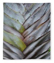 Natural Texture Fleece Blanket