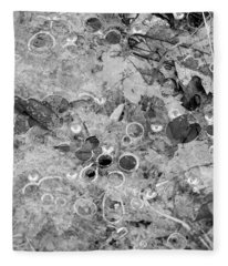 Nature Abstract Fleece Blanket