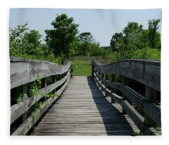 Nature Bridge Fleece Blanket