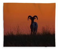 Nature Embracing Nature Fleece Blanket