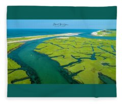 Nature Kayaking Fleece Blanket
