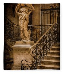 Paris, France - Nature Fleece Blanket
