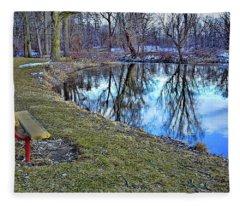 Nature Reflections Fleece Blanket
