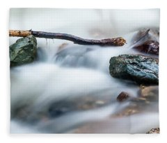 Natures Balance - White Water Rapids Fleece Blanket