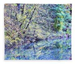 Natures Beauty Fleece Blanket