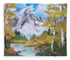 Nature's Beauty Fleece Blanket