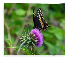 Natures Colors Fleece Blanket