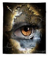 Natures Eye Fleece Blanket