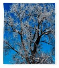Natures Lace Fleece Blanket