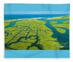 Natures Lines Fleece Blanket