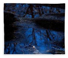 Natures Looking Glass Fleece Blanket