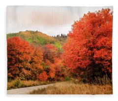 Nature's Palette Fleece Blanket