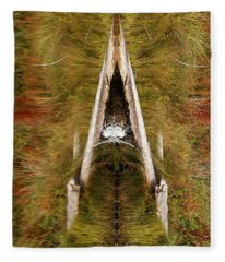 Natures Reflection Fleece Blanket