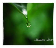 Natures Tear Fleece Blanket