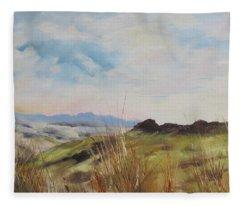 Nausori Highlands Of Fiji Fleece Blanket