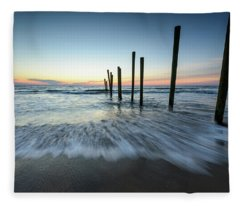 Nautical Mystique Fleece Blanket