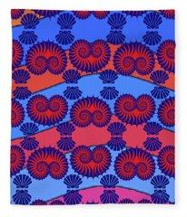 Nautilus Valentine Fleece Blanket