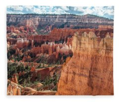 Navajo Queens Garden Trails Loop Fleece Blanket