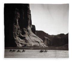Navajos Canyon De Chelly, 1904 Fleece Blanket