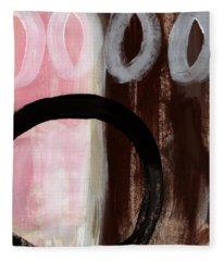 Neapolitan 2 - Abstract Painting Fleece Blanket