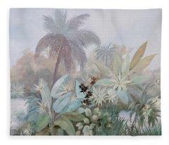 Nebbia Luminosa Fleece Blanket